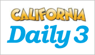 California Daily 3 Evening | CA Daily 3 Evening Results | Calottery