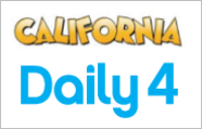 California Daily 4 Frequency Chart for the Latest 100 Draws