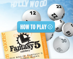 California Fantasy 5 How to Play