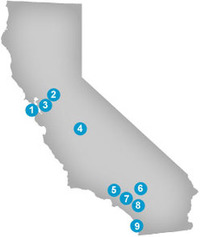California(CA) Lottery Contact and District Offices