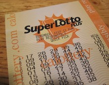 California Super Lotto Ticket